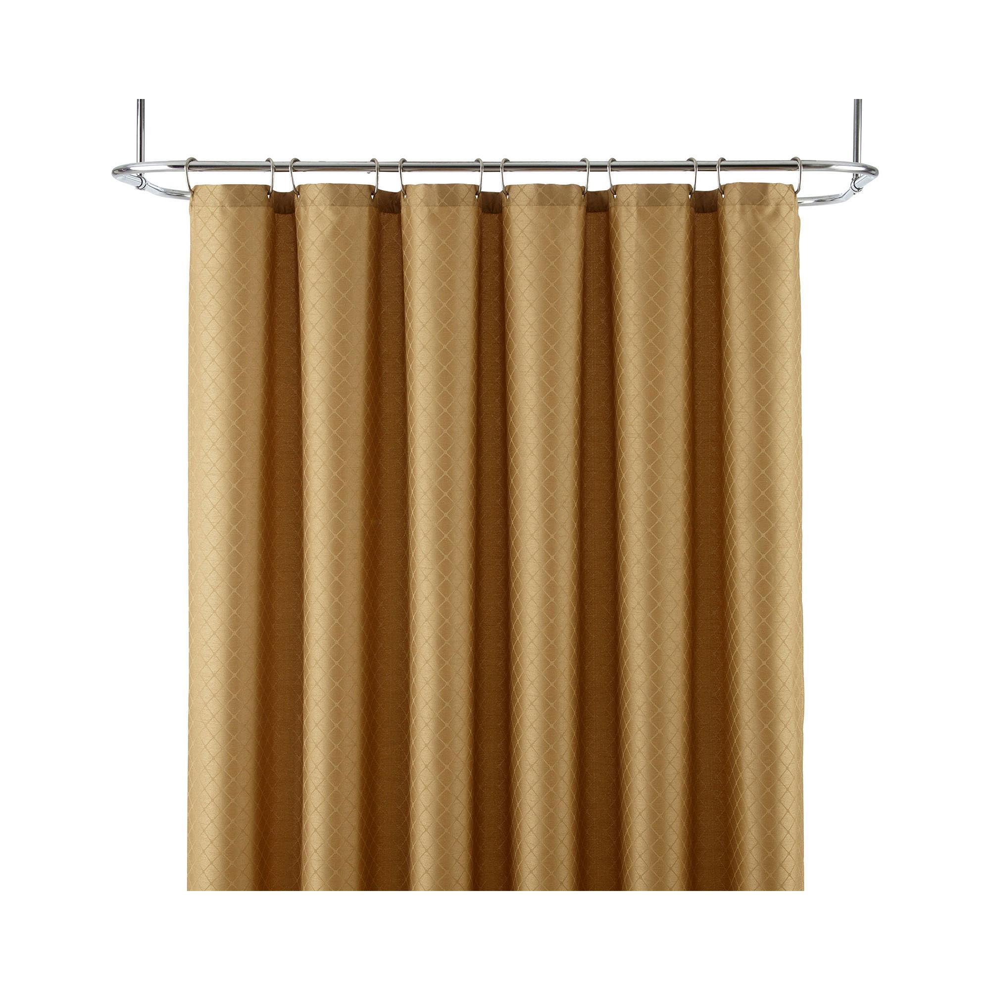 UPC 074409670034 Product Image For Royal Velvet Diamond Jacquard Despecd Shower Curtain