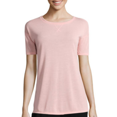 jcpenney.com | Liz Claiborne® Elbow-Sleeve Weekend Tunic - Tall