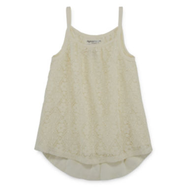 jcpenney.com | Arizona Lace-Front Tank Top - Preschool Girls 4-6x