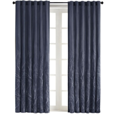 jcpenney.com | Eliza Rod-Pocket Embroidered Curtain Panel