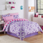 Victoria Classics Kennedy Reversible Complete Bedding Set with Sheets