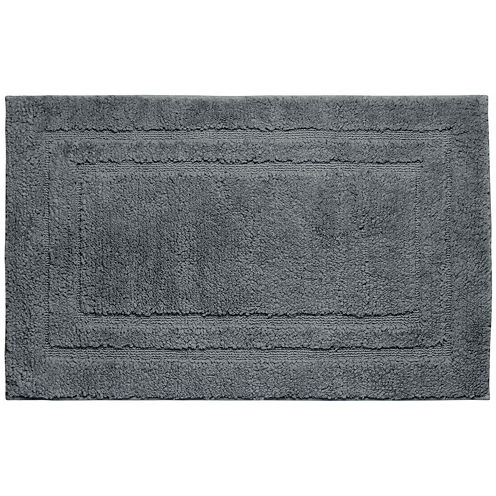 Jean Pierre Double Border Plush Textured Bath Mat Collection