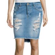 Sapphire Ink Midi Skirt
