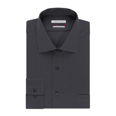 0695123fc9bb7 Van Heusen Long Sleeve Flex Collar Dress Shirt Big   Tall JCPenney