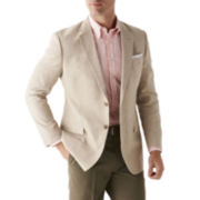 Stafford® Linen-Cotton Sport Coat - Slim Fit
