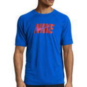 Nike® Eclipse Wave Short-Sleeve Swim Tee