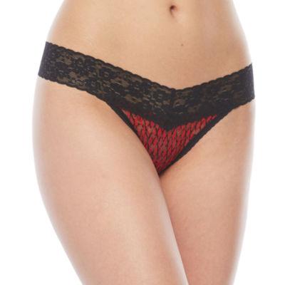 Ambrielle® Mystique® Lace Thong Panties