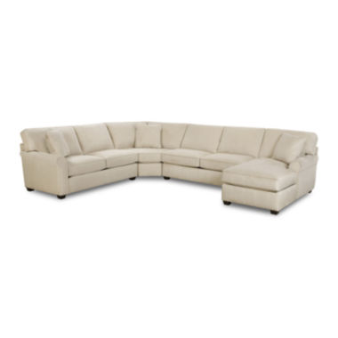 jcpenney.com | Fabric Possibilities Roll-Arm 4-pc. Left-Arm Loveseat/Chaise Sectional