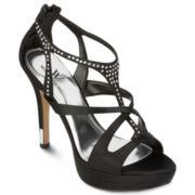 Worthington® Cameron Crisscross Satin Sandals