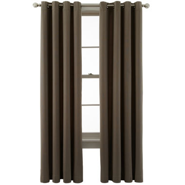 jcpenney.com | MarthaWindow™ Lineage Grommet-Top Curtain Panel