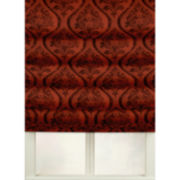 Chenille Damask Waterfall Roman Shade