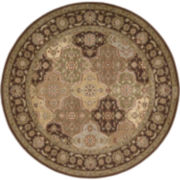 Nourison® Old World Carved Round Rugs