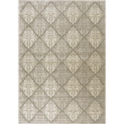 Nourison® Queen Anne High-Low Carved Rectangular Rugs