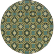 Montego Sand Dollar Indoor/Outdoor Round Rug