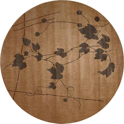 Nourison® Trailing Vines Round Rug