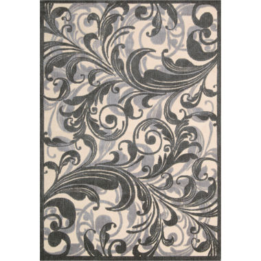 jcpenney.com | Nourison® Tuscan Song High-Low Carved Rectangular Rug