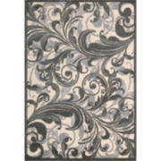 Nourison® Tuscan Song High-Low Carved Rectangular Rugs
