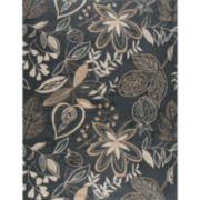 Nourison® Windy Leaves Hand-Hooked Rectangular Rug