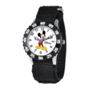 Disney Articulating Mickey Mouse Kids Time Teacher Black Watch