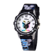 Disney Mickey Mouse Tween Black Watch