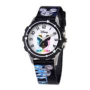 Disney Mickey Mouse Tween Black Watch