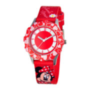 Disney Minnie Mouse Kids Red Watch