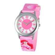 Disney Ariel Tween Pink Strap Watch