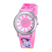 Disney Snow White Tween Pink Strap Watch