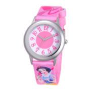 Disney Snow White Tween Pink Strap Watch