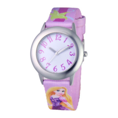 jcpenney.com | Disney Rapunzel Tween Purple Strap Watch