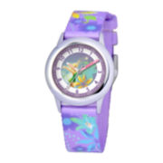 Disney Time Teacher Tinker Bell Purple Watch