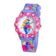 Disney Tinker Bell Tween Purple Graphic Strap Watch