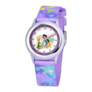 Disney Kids Time Teacher Nylon Strap Fairies Watch
