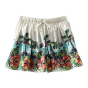 OshKosh B'gosh® Tropical Print Woven Skirt - Girls 5-6x