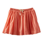 OshKosh B'gosh® Coral Woven Skirt - Girls 5-6x