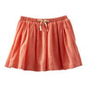 OshKosh B'gosh® Coral Woven Skirt - Girls 5-6x