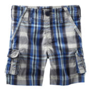 OshKosh B'gosh® Plaid Cargo Shorts - Boys 5-7