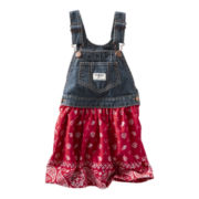 OshKosh B'gosh® Skirt Jumper - Girls 3m-24m