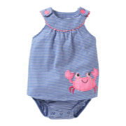 Carter's® Crab Sun Suit Dress - Girls newborn-24m
