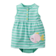 Carter's® Fish Romper - Girls newborn-24