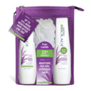 Matrix® Biolage HydraSource Shampoo and Conditioner + Loofah