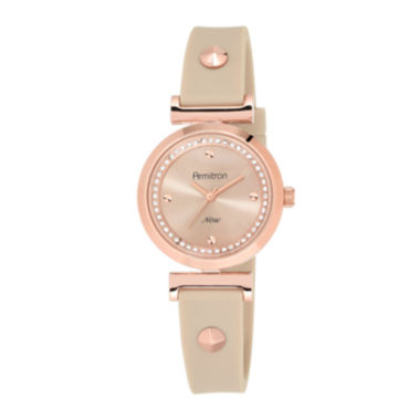 jcpenney.com | Armitron® Now® Womens Crystal-Accent Pink Strap Watch