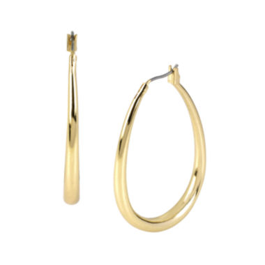 jcpenney.com | Worthington® Teardrop Hoop Earrings