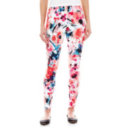 Mixit™ Print Knit Cropped Leggings