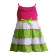 Nannette Tiered Gauze Dress - Baby Girls 3m-24m