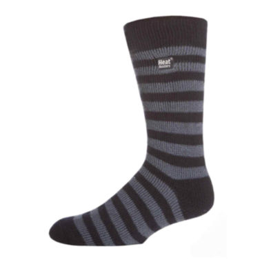 jcpenney.com | Heat Holders® Striped Thermal Crew Socks