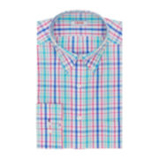 IZOD® Patterned Dress Shirt–Big & Tall