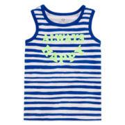 Okie Dokie® Striped Tank Top - Baby Boys newborn-24m