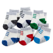 Carter's® 6-pk. Striped Socks - Baby Boys newborn-24m