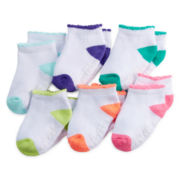 Carter's® 6-pk. Terry Quarter Socks - Baby Boys newborn-24m